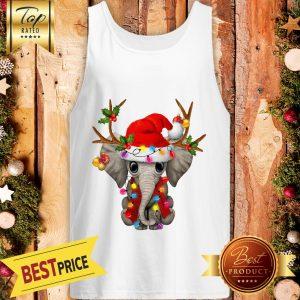 Elephant Gorgeous Reindeer Crewneck Tank Top