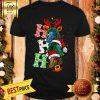Ho Ho Ho Horse Reindeer Christmas Santa Laugh Shirt