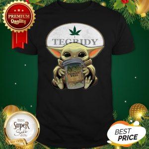 Baby Yoda Hug Tegridy Weed South Park Shirt
