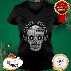 Official DJ Sugar Skull V-neck