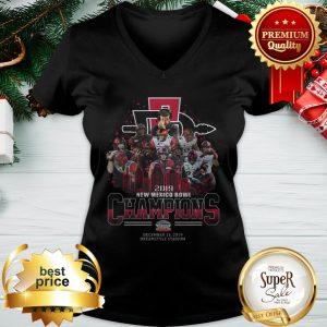 San Diego State Aztecs 2019 New Mexico Bowl Champions V-neck