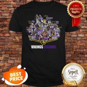 Premium Minnesota Vikings Legends Signatures ShirtPremium Minnesota Vikings Legends Signatures Shirt