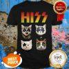 Nice Hiss Rock Band Kiss Cat Shirt