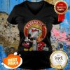 Mickey Mouse And Kansas City Chiefs Champions Super Bowl V-neck