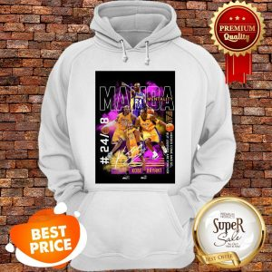 Nice Kobe Bryant Mamba Mentality 24 8 Heroes Come And Go Legends Are Forever Hoodie
