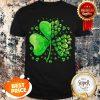Nice Sugar Skull Lucky Shamrock Happy St Patrick's Day Gifts Shirt