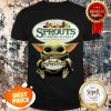 Official Baby Yoda Hug Sprouts Farmers Market Star Wars Shirt