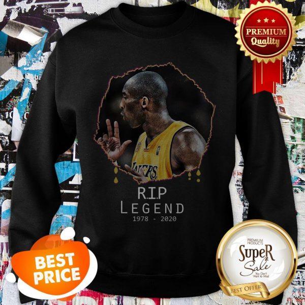 Rest In Peace Kobe Bryant R.I.P Legend 1978 2020 Sweatshirt