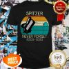 Spitzer Space Telescope Never Forget 2003-2020 Vintage Shirt