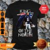 Awesome Tom Brady New England Patriots 12 King Of The North GOT ShirtAwesome Tom Brady New England Patriots 12 King Of The North GOT Shirt