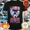 Nice Across The Pitch Soccer Podcast Shirt