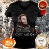 Nice GOT Milk Tormund Giantsbane Game Of Thrones V-neck