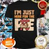 Nice Im Just Here For The Pie Math Shirt