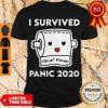 Nice I Survived Panic 2020 Toilet Paper Shirt