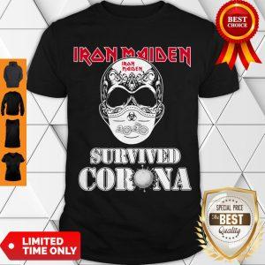 Premium Iron Maiden 2020 Survived Corona ShirtPremium Iron Maiden 2020 Survived Corona Shirt