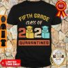 Top Fifth Grade Class Of 2020 Toilet Paper Quarantined Vintage Shirt