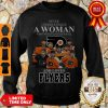 Good Never Underestimate A Woman Who Understands Baseball And Loves Flyers Sweatshirt