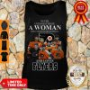 Good Never Underestimate A Woman Who Understands Baseball And Loves Flyers Tank Top
