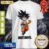 Top Nike Dragon Ball Super Goku Just Do It Shirt