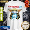 Cute Star Wars Baby Yoda Hug Shoppers Drug Mart Covid 19 T-Shirt