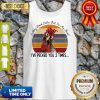 I May Look Calm But In My Head Eve Pecked You 3 Times Vintage Tank Top