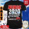 Nurse 2020 Mask Called According To His Purpose Roman 8 28 Shirt