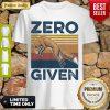 Premium Fox Zero Given Retro ShirtPremium Fox Zero Given Retro Shirt