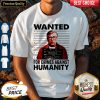 Wanted For Crimes Against Humanity Bill Gate Sunset White Shirt
