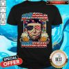 Abraham Lincoln Drinkin' Beer 4th Of July America Shirt