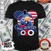 Eeyore Happy 4th Of July 2020 American Flag Shirt