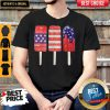 Independence Day Ice Cream 4th July Party Patriotic US America Shirt