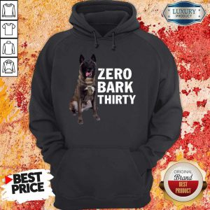 Official Conan Dog Zero Bark Thirty Hoodie