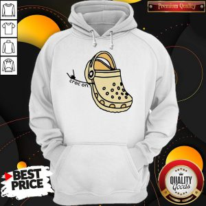 Official Croc On Hoodie
