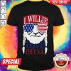 Official I Willie Love The USA Shirt