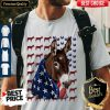 Official Independence Day Donkey Flag Shirt