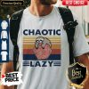 Official Sloth Chaotic Lazy Vintage Shirt