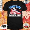 Official Trump Train America First Shirt