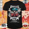 Skull Philadelphia Eagles Pandemic Covid-19 In Case Of Emergency Shirt