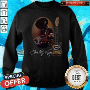 Funny Legend Stevie Ray Vaughan Guitar Signature Sweatshirt