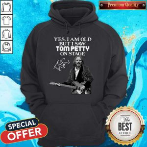 Official Yes I Am Old But I Saw Tom Petty On Stage Signature V-neck