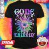 Top Mushroom Gode Trippin Colors Shirt