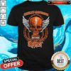 Nice Skull Motor Harley Davidson Cycles Slipknot Shirt