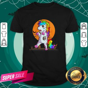 Official Unicorn Zombie Happy Halloween Shirt