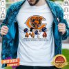 The Peanuts Characters Chicago Bear It's The Most Wonderful Time Of The Year Shirt