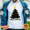 Cute Meowy Christmas Black Cat Shirt - Design By Togethertee.com