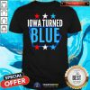 Cute Michigan Turned Blue Democrats Won The Election For Biden Stars Shirt - Design By Togethertee.com
