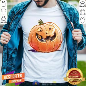Cute Pumpkin Spice Kitty Cat Halloween Shirt