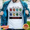 Cute Who Is The Impostor Among Us T-Shirt