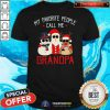 Hot Favorite People Call Me Grandpa Christmas Shirt - Design By Togethertee.com