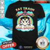 Official Eat Trash Hail Satan Opossum Shirt - Design By Togethertee.com